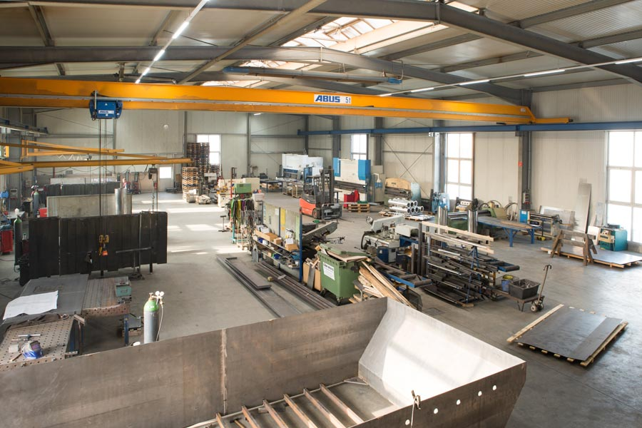 Halle der Metallverarbeitung Fischer GmbH