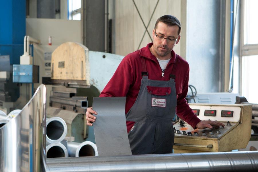 Stellenangebot der Metallverarbeitung Fischer GmbH
